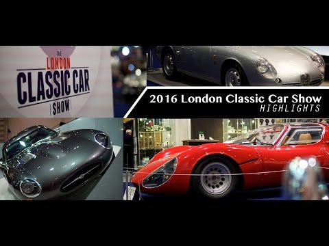 Highlights of the 2016 London Classic Car Show
