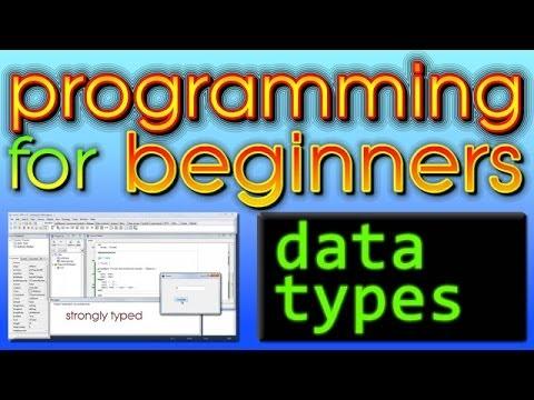 Programming For Beginners - Data Types