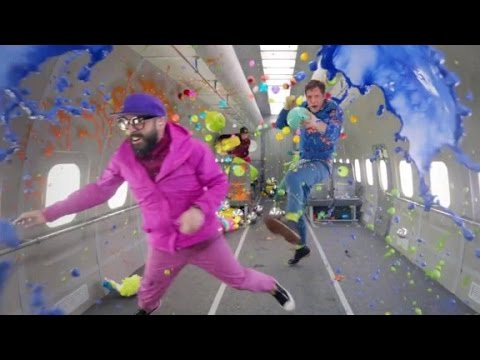 Band films music video in zero gravity