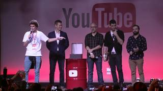 Porta dos Fundos - Play de Diamante  @ YouTube FanFest Brasil 2015