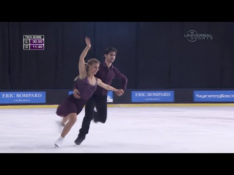 Hubbell and Donohue leads Ice Dance - Universal Sports