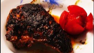 Grill Chicken | ranna banna bangladesh chiken | মুরগির মাংস রান্না | গ্যাস এর চুলায় তৈরি গ্রিল চিকেন