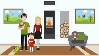 Schiedel Sistemi Integrati KINGFIRE Visual Animation