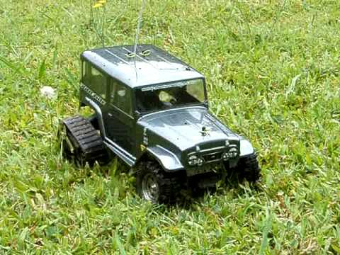 FJ40 mattracks custom RC