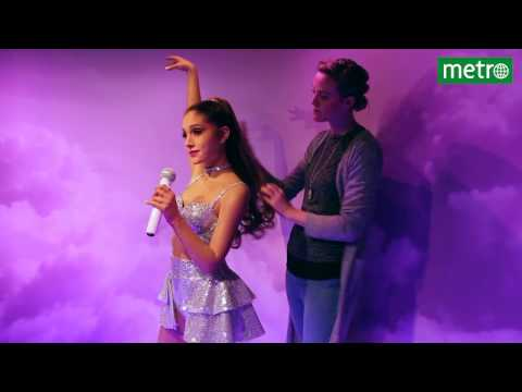 Ariana Grande in Madame Tussauds Amsterdam