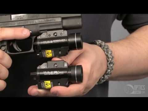 Streamlight TLR-1 HL & TLR-2 HL - OpticsPlanet.com Product in Focus