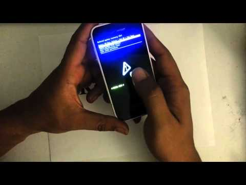 How to Factory Restore Hard Reset or Password Wipe the Samung Galaxy S Fascinate Verizon