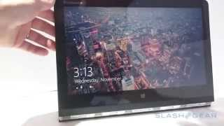 Microsoft Windows on the Lenovo Yoga 3 Pro - Flexible Productivity