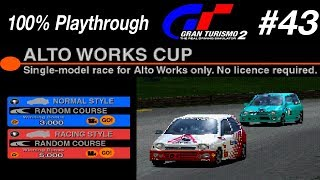 Gran Turismo 2 - #43 - Alto Works Cup (100% PT)