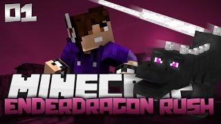 Minecraft: Enderdragon RUSH! Episode 1 - Challenges A-Plenty!