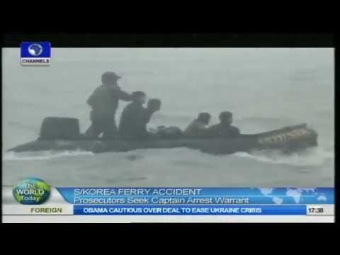 The World Today: South Korea Ferry Captain Arrest Warrant Sought