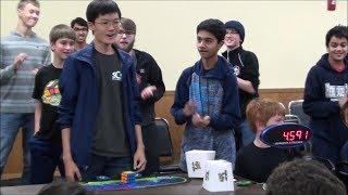 4.59 Rubik's Cube World Record - SeungBeom Cho