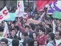Chile riot police use water cannon and tear gas to disperse student protesters