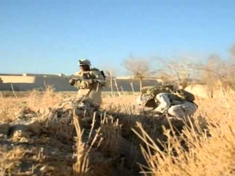 US Marines face daily battle at Afghan base