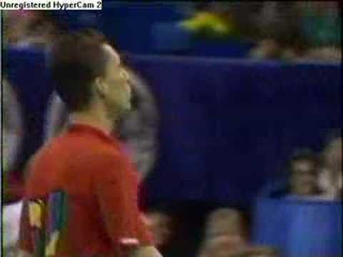 Ivan Lendl KOs Johnny McEnroe