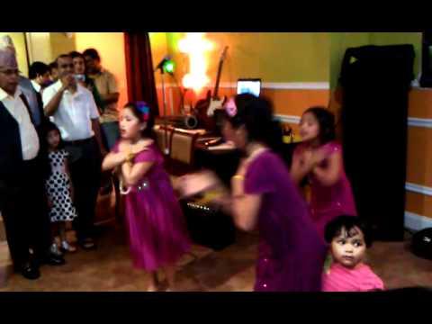 Prasika Abhilasha Aarju dancing in Salaam Namaste bollywood...