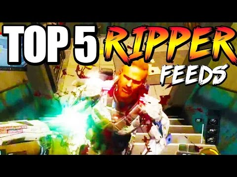 Black Ops 3 - Top 5 RIPPER FEEDS - BO3 Community Top Five #10 | Chaos