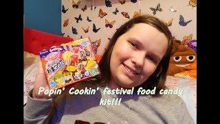 Making Kracie Popin' Cookin' festival food! =P