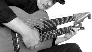 Brin Addison Euforia Del Loco 15 String Harp Guitar
