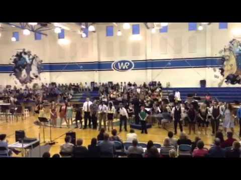 West Rusk High School Band