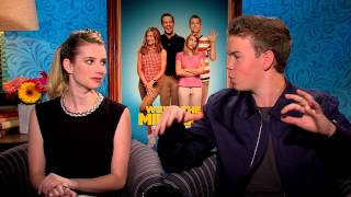 We're The Millers (2013) Emma Roberts & Will Poulter Interview [HD]