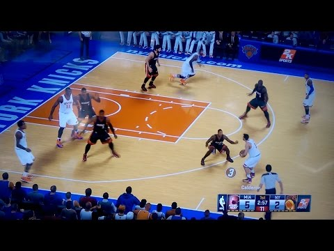 NBA 2K15 Gameplay Video - Miami Heat vs. New York Knicks - Exclusive Footage