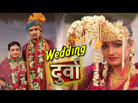 Durva & Keshav's Wedding Pics - Durva - Star Pravah Marathi Serial video