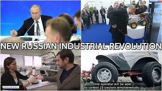 Putin Makes Sure Russia Produces Everything It Can - From Hockey Sticks To Self-Driving Tractors!