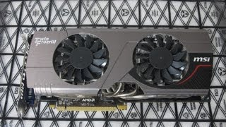 MSI R7950 Twin Frozr Overclocking & Benchmarks