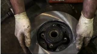 How to Replace Honda Captive Rotors - EricTheCarGuy