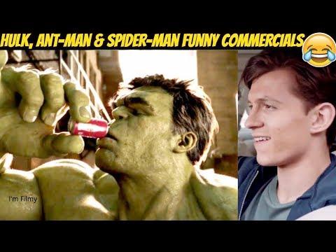 Download Marvel Superheroes Funny TV Commercials Ft. Tom Holland & Ryan Reynolds Mp4 baru