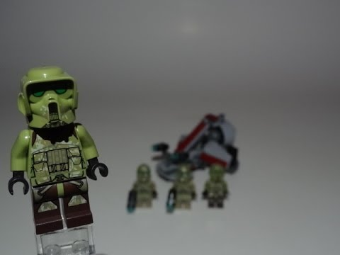 LEGO Star Wars Kashyyyk Troopers Battlepack Review 75035