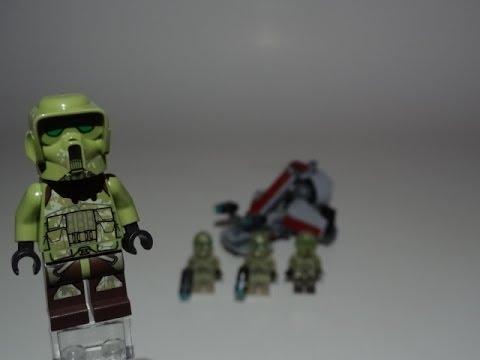 LEGO Star Wars Kashyyyk Troopers Battlepack Review 75035