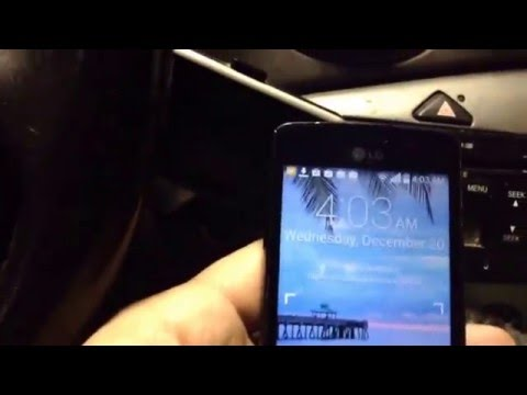 Homeless guy hacks into LG phone; bypass security screen LGL15G; Android version 4.4.2