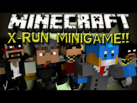RAGE Minecraft X-Run!
