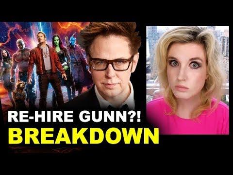 Rehire James Gunn?! Guardians Of The Galaxy Cast Petition