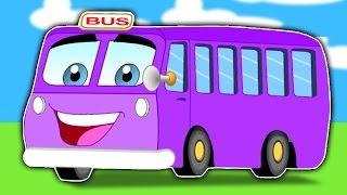 bánh xe trên xe buýt   Bộ sưu tập vần điệu trẻ   Wheels on the Bus Rhyme for Kids
