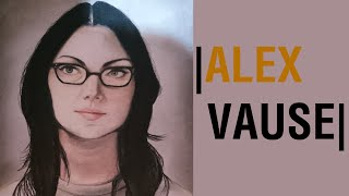 Dibujo a Alex Vause | Drawing Alex Vause