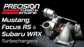 Precision Turbo's Drop-In Replacement Turbochargers