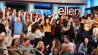 Ellen Shares the Wealth with Her Audience
