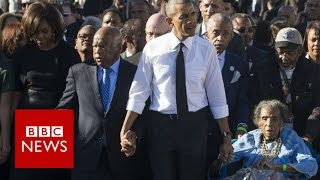 Barack Obama's race legacy: Progressive or divisive? BBC News