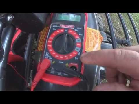 How To measure 12 volt Amps  with a Multimeter