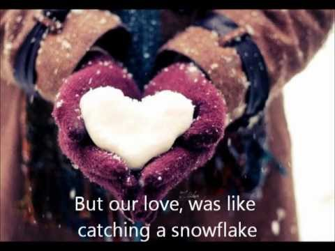 Pixie Lott - Catching Snowflakes with Lyrics