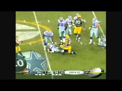 AJ Hawk and Desmond Bishop 2010 Highlights