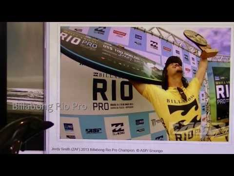 Surfing News - Jordy Smith Wins Rio Pro - May 19th 2013