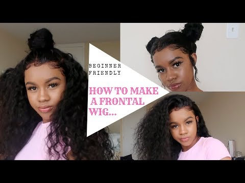 2018 Tutorial: How To Make & Slay Your Lace Frontal Wig Beginner Friendly || VanLov Hair
