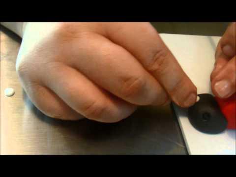 Como hacer una catarina en fondant
