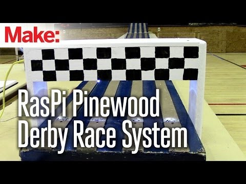 Projects with Ryan Slaugh: Building a Raspberry Pi Pinewood Derby Race System