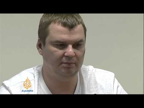 Ukraine protest leader describes torture