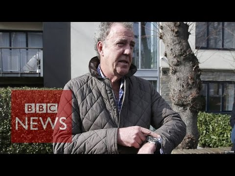 "Jeremy Clarkson: Former Stig calls response ""a complete overreaction"" - BBC News"
